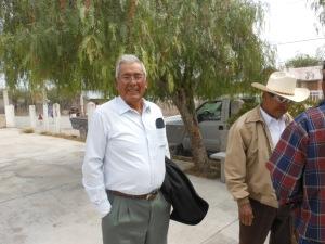 Outside church in La Hincada